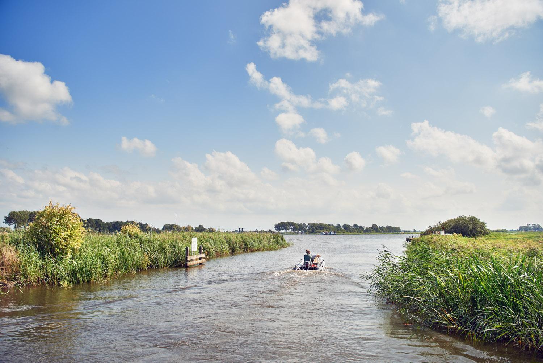 beroemde Friese wateren in de omgeving