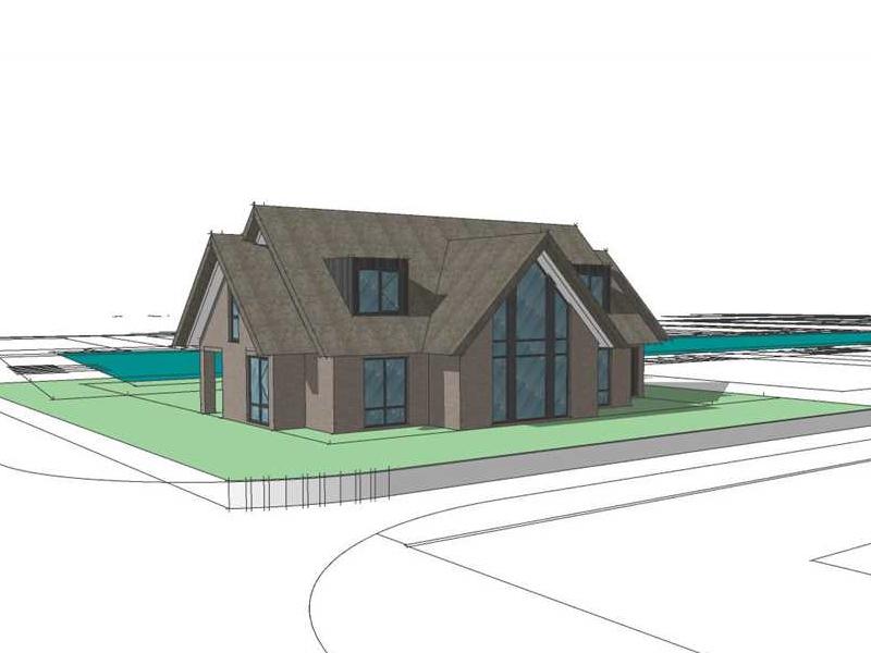 Modern landelijk huis ontwerpen